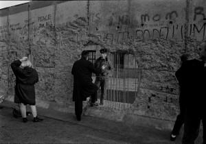 Berlin 1989: Mauer-'Talk'