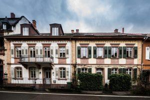 Weinheim Häuserensemble