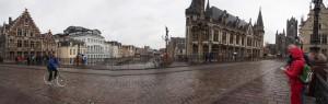 Gent. St. Michaels Brücke