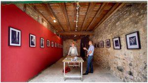 Temporäre Galerie Scheune Café Frey. Adonis Malamos